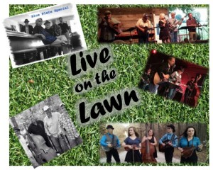 "Hillcrest ""Live on the Lawn"" concert series 2017 Not Church Music but Great Music at a Great Church !! The Hillcrest ""Live on the Lawn"" series will be held each Sunday eve at 6:30pm for 6 weeks starting June 18th running through July 23rd.  The Series is free to the public and all are encouraged to bring a lawn chair, blanket and picnic dinner and don't forget to bring a friend !  The Music will cover the gambit from Bluegrass to Rockabilly.  6 Nights...6 Genres -- The line-up this year is June 18th--Blue Train June 25th--Mike Mac & the Rockabilly Cats July 2nd---Creek Rocks July 9th---Poa Annua July 16th--The HonkyTonk Renovators July 23rd--Blue Plate Special"